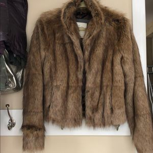 Jackets & Blazers - Abercrombie fur jacket large